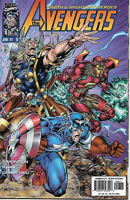 Earth's Mightiest Heroes Avengers #8 VF+ Marvel Comics June 1997