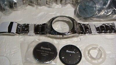 Trade Job Lot 44 X Genuine Bench  / Watch Strap. Case And Face ,