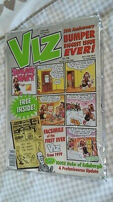 Viz Comic No 99 - With Free Facsimile Of Issue No.1 - In Original Foil Cover!
