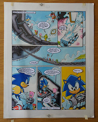 Sonic The Hedgehog - Sonic The Comic - Issue 68, Page 2 - Original Artwork