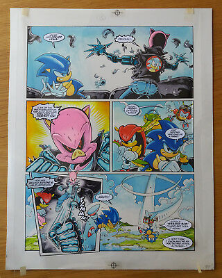 Sonic The Hedgehog - Sonic The Comic - Issue 68, Page 3 - Original Artwork