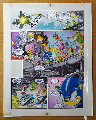 Sonic The Hedgehog - Sonic The Comic - Issue 68, Page 6 - Original Artwork