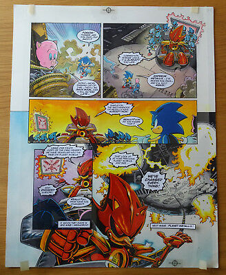 Sonic The Hedgehog - Sonic The Comic - Issue 68, Page 7 - Original Artwork
