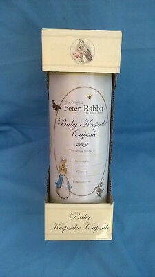 Peter Rabbit Baby Keepsake Capsule