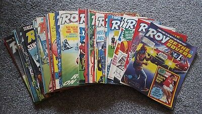 45 Roy of the Rovers comics 1987