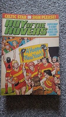 20 Roy of the Rovers comics 1983