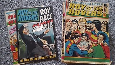 46 Roy of the Rovers comics 1981