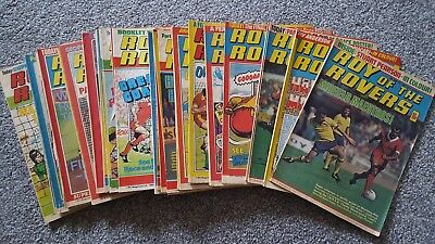 35 Roy of the Rovers comics 1980