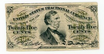 Fractional Currency FR1292 25c VF