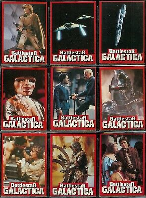 Battlestar Galactica - For Sale Is A Complete Wonderbread 1978 Card Set