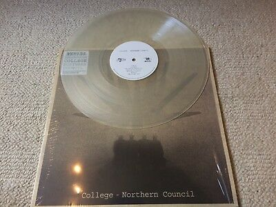 College 'Northern Council' Clear Vinyl Record Store Day Rare Unplayed Sealed