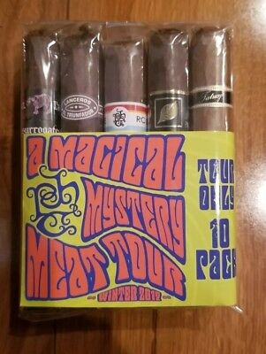 Tatuaje 2017 Exclusive!!  Magical Mystery Meat Tour event only sealed 10 pack