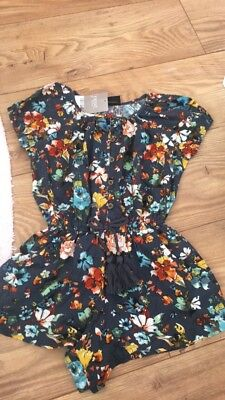Age 5 Girls Playsuit New With Tags