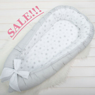 Sale! Double sided babynest, portable crib co sleeper baby nest bed bassinet pod