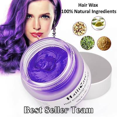 Hair Wax 4 oz Professional Hair Pomades Unisex Natural Matte Hairstyle Max