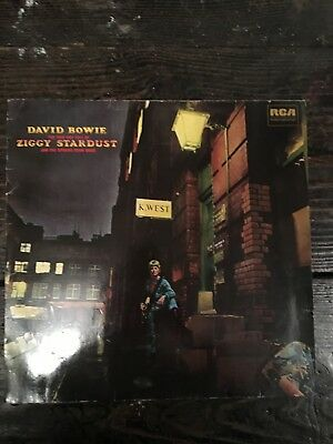 David Bowie - The Rise and Fall of Ziggy Stardust - UK Vinyl LP