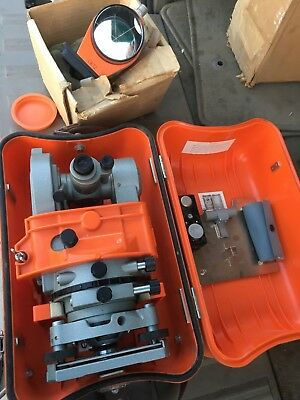 Lietz Tm6 Transit Theodolite With Case