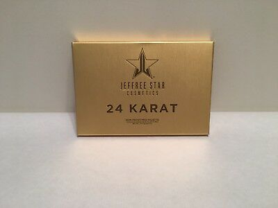 "Original Jeffree Star Skin Frost ""24 Karat Gold"" Highlighter Palette  NEU!!!"