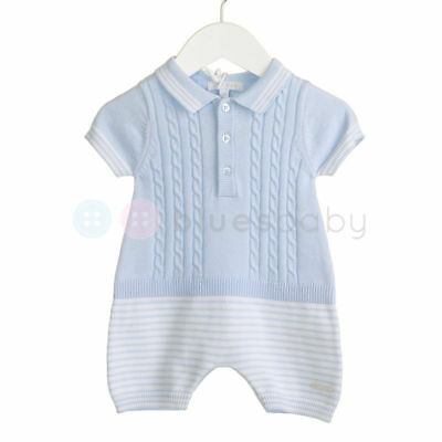 Gorgeous Boys Knitted Romper By Zip Zap