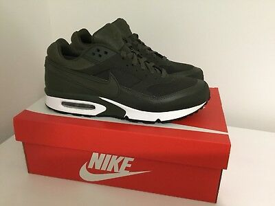 Nike Air Max Classic Bw Army Green Cargo/khaki Trainers 881981300 Size 9