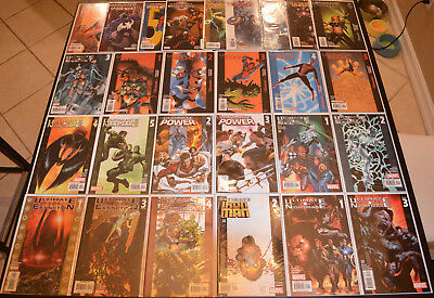 ULTIMATE (27-BOOK) Marvel LOT w EXTINCTION, NIGHTMARE, POWER, SIX #1 2 3 4 5 NM+