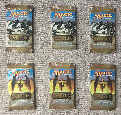 MTG 6 x CONFLUX BOOSTER PACKS Factory Sealed / English Magic The Gathering
