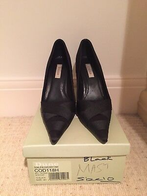 Dune - Black high Heel Shoes - Size 41