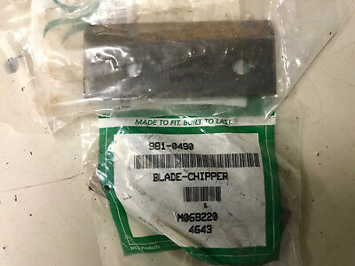 MTD Replacement Blades for chipper Shredder 981-0490