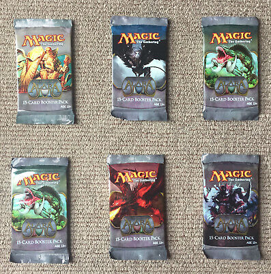 MTG 6 x SHARDS OF ALARA BOOSTER PACKS Factory Sealed / English / Magic