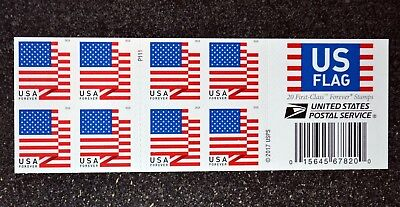 2018USA #5262a Forever U.S. Flag US - Booklet of 20  Mint  (APU)