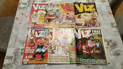 Viz Comic Collection 7 Issues 103,104,106,111,109,123 & 141.