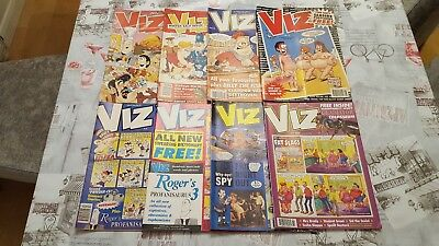 Viz Comic Collection 8 Issues 93,94,95,96,97,98,100, & 102.