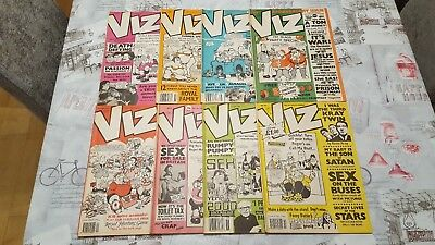 Viz Comic Collection 8 Issues 35,36,37,38,39,40,41,42.