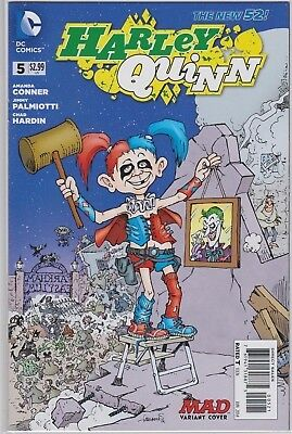 Harley Quinn #5 Mad Variant Cover 1:25