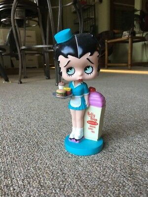 2008 Betty Boop Plastic Bobble Head Drive-in Carhop