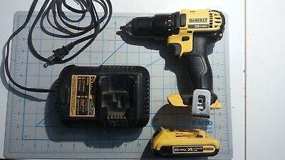 Dewalt 20V DCD780 cordless drill/driver - with charger and 2.0Ah battery