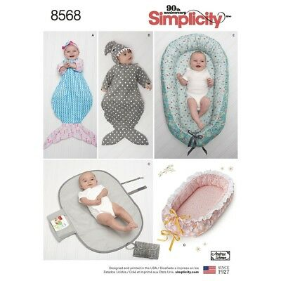 Sewing Pattern! Make Baby Accessories! Baby Nests~Swaddling Sacks~Changing Pad!