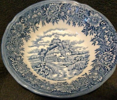 "english village salem china co. 6"" soup/cereral bowl"