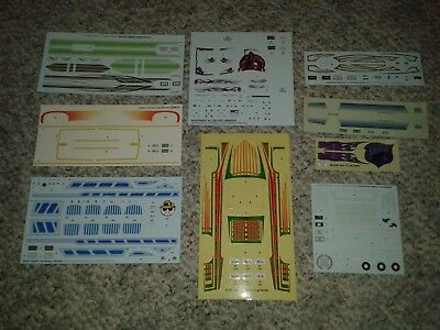 1:25 1/25 Model Car Decals Lot Lowrider Revell AMT Johan Cadillac