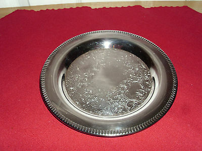 Etched Marlboro Silverplate Dish by Norton & Parker, Canada