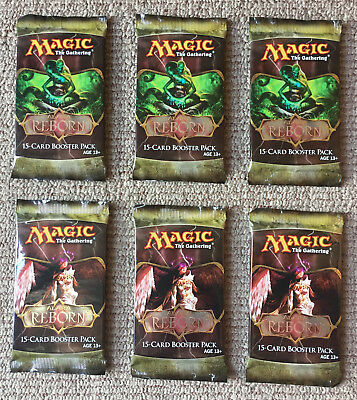 MTG 6 x ALARA REBORN BOOSTER PACKS Factory Sealed / English / Magic