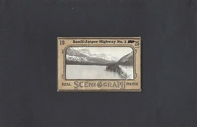 Souvenir Collection of 10  Real Scene-Graph Photos of Banff-Jasper Hwy No.2