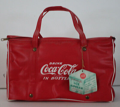 Vintage Coke Coca Cola Cooler Featherweight Ice Caris-Art With Original Tag 14""