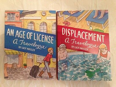 Displacement + Age of License by Lucy KNISLEY. Graphic Novels.