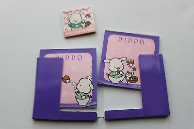 used lot Sanrio Pippo pig paper stickers