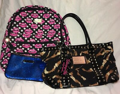 Betsey Johnson Lot Of 3 Bags