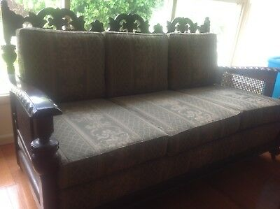 1935 Fully Restored Jacobean Lounge Room Suite With Two Chairs