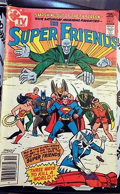 The Super Friends comic issue #9 Dec 1977 DC TV Comic