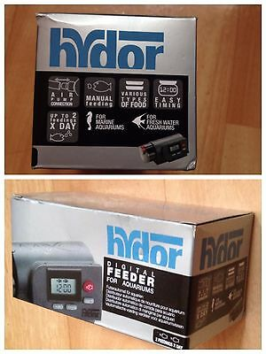 Hydor Feeder Digital Distributeur Automatique de Nourriture pour Aquariophilie