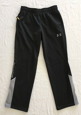 Under Armour Boys Girls Youth Large Sweat Pants Black
